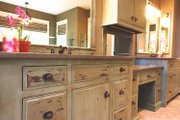 European Style House Plan - 4 Beds 3.5 Baths 4347 Sq/Ft Plan #928-178 Interior - Master Bathroom