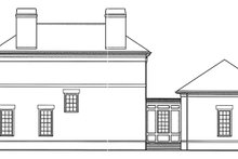 House Plan Design - Classical Exterior - Other Elevation Plan #992-1