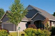Craftsman Style House Plan - 3 Beds 2 Baths 1275 Sq/Ft Plan #48-165 Exterior - Front Elevation