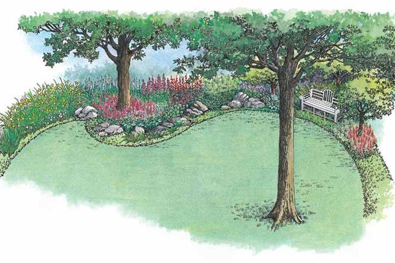 Exterior - Rear Elevation Plan #1040-78 - Houseplans.com
