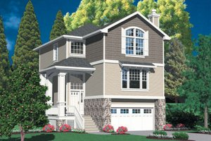 Traditional Exterior - Front Elevation Plan #48-440