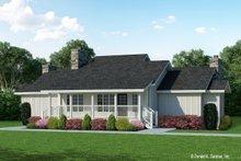 Dream House Plan - Farmhouse Exterior - Front Elevation Plan #929-35