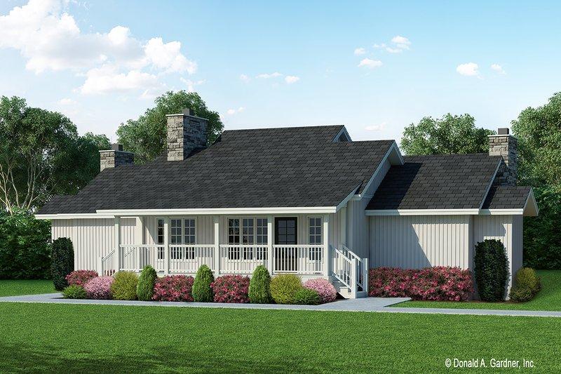 Home Plan - Farmhouse Exterior - Front Elevation Plan #929-35