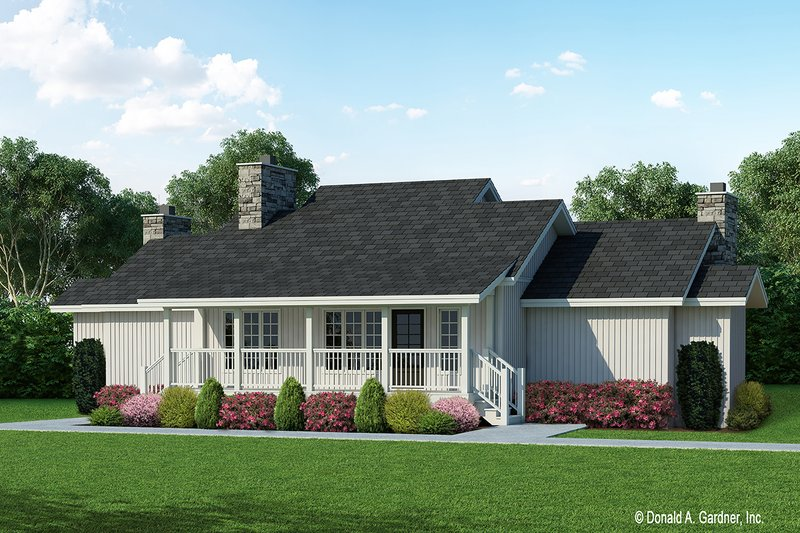Farmhouse Exterior - Front Elevation Plan #929-35