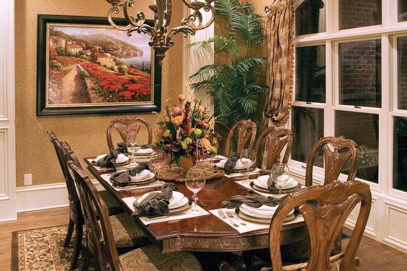 Traditional Interior - Dining Room Plan #927-11 - Houseplans.com