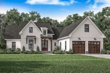 Home Plan - Farmhouse Exterior - Front Elevation Plan #1067-1