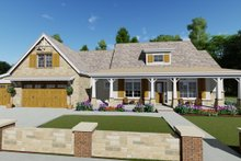 Home Plan - Farmhouse Exterior - Front Elevation Plan #1069-19