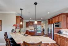 Architectural House Design - Traditional Interior - Kitchen Plan #437-118