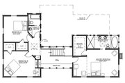 Farmhouse Style House Plan - 4 Beds 3 Baths 3291 Sq/Ft Plan #485-4 Floor Plan - Upper Floor Plan