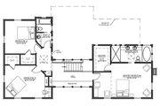 Farmhouse Style House Plan - 4 Beds 3 Baths 3291 Sq/Ft Plan #485-4 Floor Plan - Upper Floor Plan