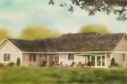 Ranch Style House Plan - 3 Beds 2 Baths 1924 Sq/Ft Plan #427-6