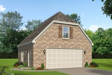 Dream House Plan - Country Exterior - Front Elevation Plan #932-84