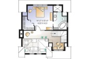 Country Style House Plan - 2 Beds 2.5 Baths 1956 Sq/Ft Plan #23-2419 Floor Plan - Upper Floor Plan