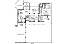 Farmhouse Floor Plan - Main Floor Plan Plan #70-878