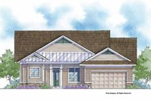 House Plan Design - Country Exterior - Front Elevation Plan #938-52