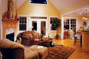 Country Style House Plan - 3 Beds 2 Baths 1724 Sq/Ft Plan #929-577 Interior - Family Room