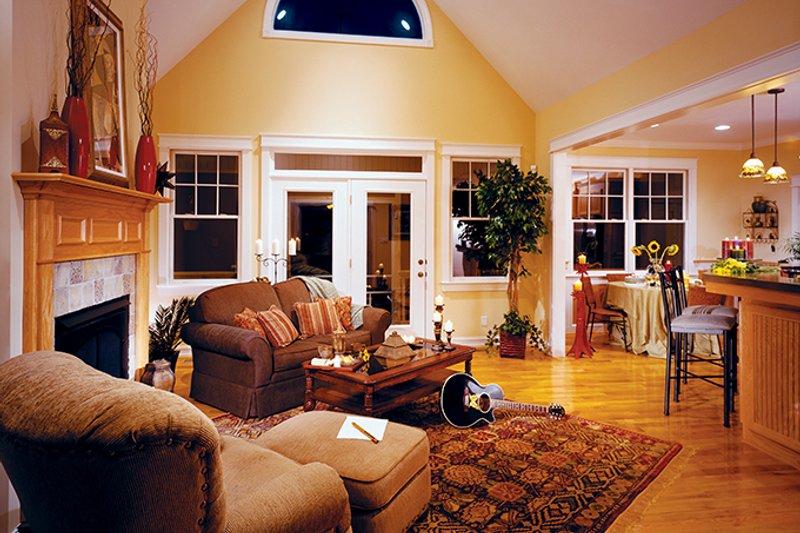 Country Interior - Family Room Plan #929-577 - Houseplans.com