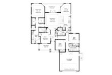 Country Floor Plan - Main Floor Plan Plan #938-80