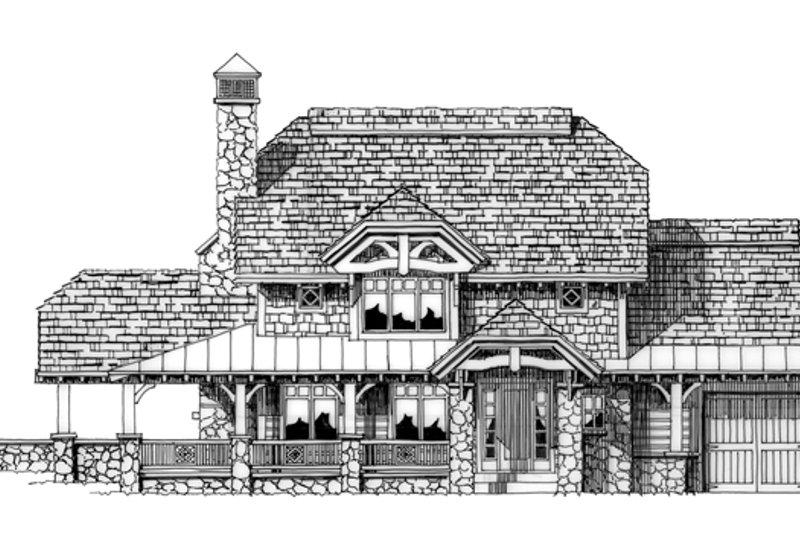 Craftsman Exterior - Front Elevation Plan #942-26 - Houseplans.com