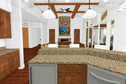 Craftsman Style House Plan - 2 Beds 2.5 Baths 2605 Sq/Ft Plan #1069-1 Interior - Kitchen