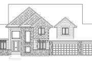 Traditional Style House Plan - 4 Beds 3.5 Baths 3347 Sq/Ft Plan #56-594 Photo