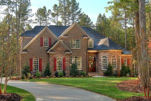 Home Plan Design - Country Exterior - Front Elevation Plan #927-502