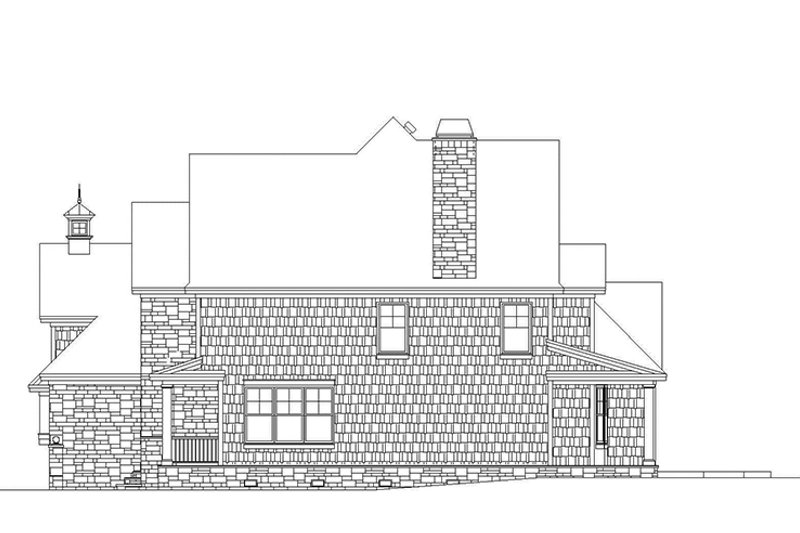 Country Exterior - Other Elevation Plan #929-835 - Houseplans.com