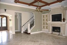 Home Plan - Country Interior - Family Room Plan #1019-9