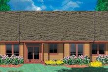 Craftsman Exterior - Rear Elevation Plan #48-824