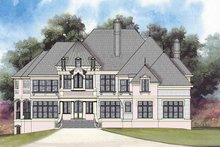 Country Exterior - Front Elevation Plan #119-409