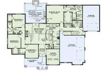Craftsman Floor Plan - Main Floor Plan Plan #17-3391