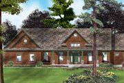 Country Style House Plan - 3 Beds 2.5 Baths 3094 Sq/Ft Plan #49-126