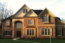 Mediterranean Exterior - Front Elevation Plan #927-211