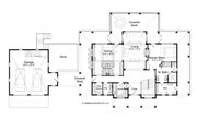 Traditional Style House Plan - 5 Beds 5.5 Baths 5280 Sq/Ft Plan #928-262 Floor Plan - Main Floor Plan
