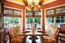 Dream House Plan - Mediterranean Interior - Dining Room Plan #930-70