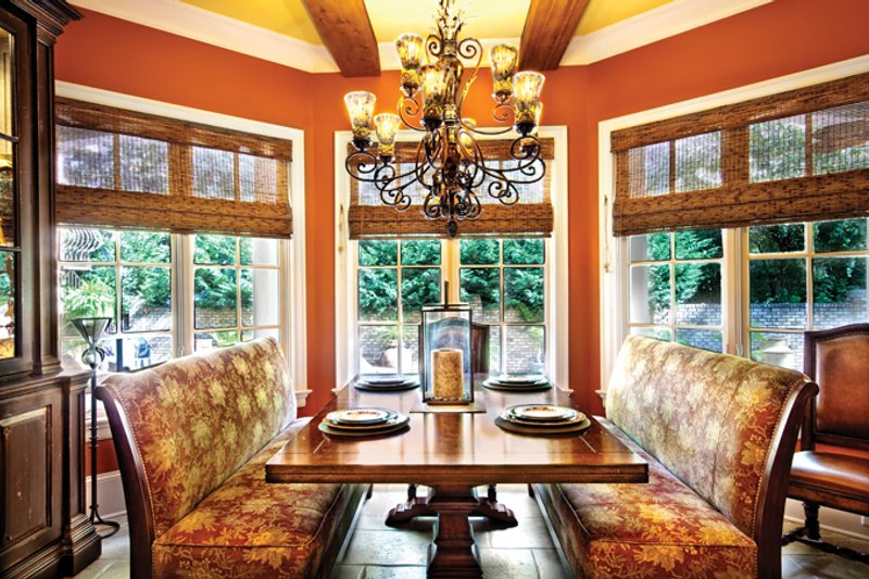 Mediterranean Interior - Dining Room Plan #930-70 - Houseplans.com