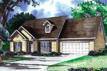Traditional Exterior - Front Elevation Plan #17-3260
