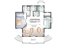 Traditional Floor Plan - Main Floor Plan Plan #23-2609