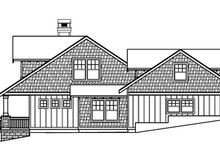 Bungalow Exterior - Other Elevation Plan #124-485