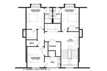 Country Floor Plan - Upper Floor Plan Plan #928-284