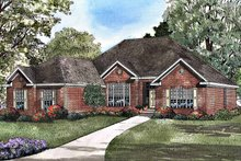Home Plan - Ranch Exterior - Front Elevation Plan #17-3087