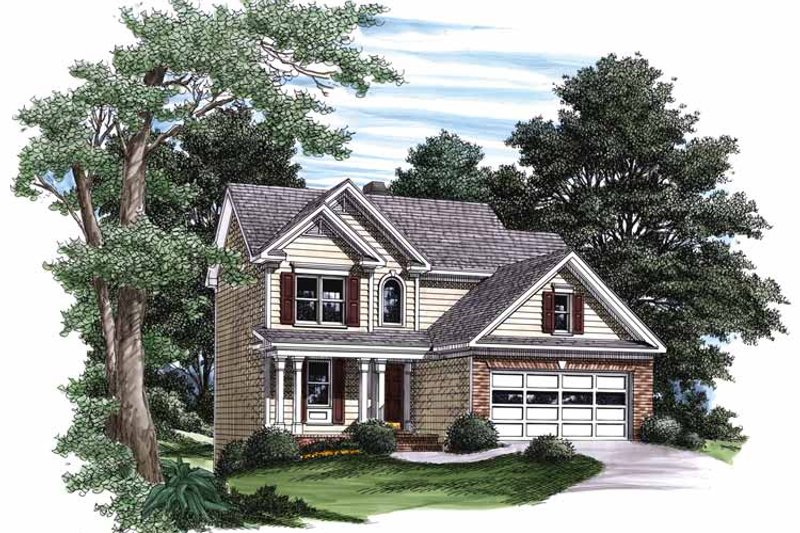 Country Exterior - Front Elevation Plan #927-332 - Houseplans.com