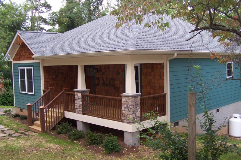 Country Exterior - Other Elevation Plan #44-177 - Houseplans.com