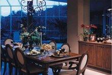Mediterranean Interior - Dining Room Plan #930-256