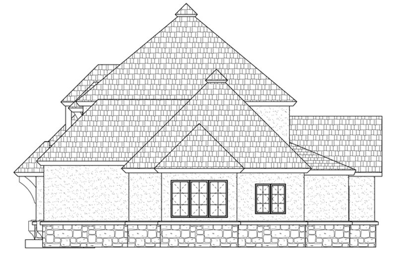 Prairie Exterior - Other Elevation Plan #937-31 - Houseplans.com