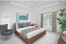 Beach Interior - Master Bedroom Plan #938-108