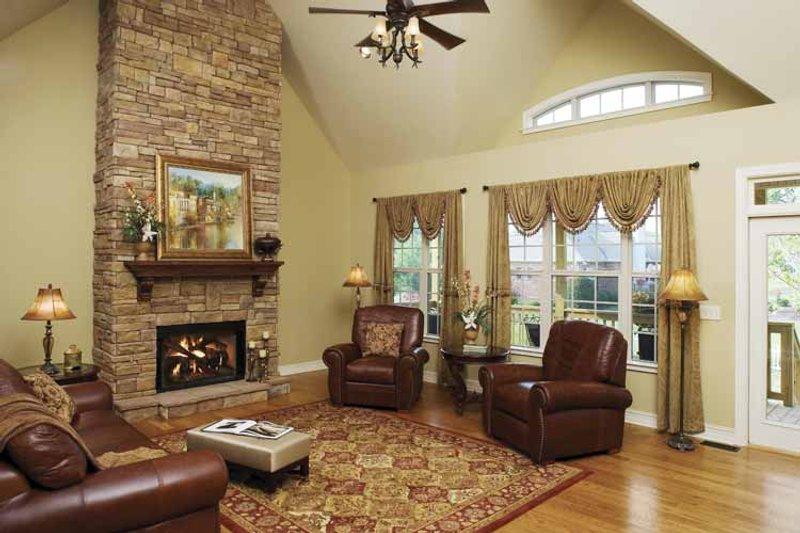 Ranch Interior - Family Room Plan #929-601 - Houseplans.com