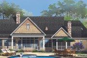 European Style House Plan - 4 Beds 3 Baths 2195 Sq/Ft Plan #929-958 Exterior - Rear Elevation