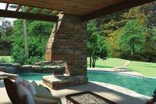 Home Plan - Cottage Exterior - Rear Elevation Plan #120-244