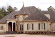 European Style House Plan - 5 Beds 4 Baths 3196 Sq/Ft Plan #429-1 Exterior - Other Elevation